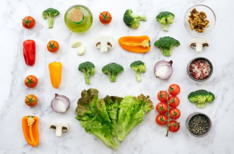 Verduras baja en carbohidratos