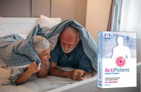 actipotens, coppia felice a letto