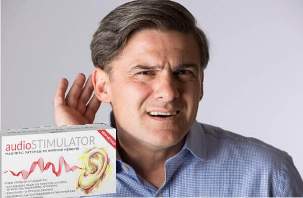 audiostimulator orecchie, apparecchio acustico cerotti