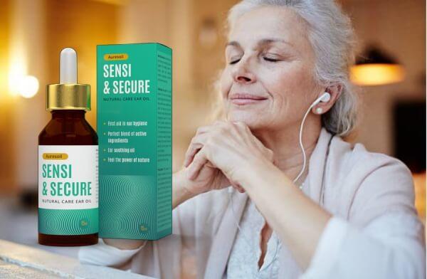 Auresoil Sensi & Secure, vecchia signora che ascolta la musica
