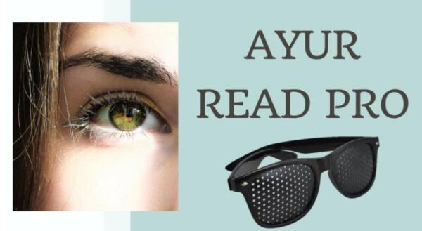 Ayur Read Pro - ¿Las gafas de biotecnología ayurvédica ayudan a los ojos cansados?
