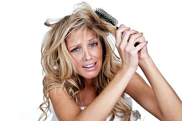 peines, pérdida de cabello