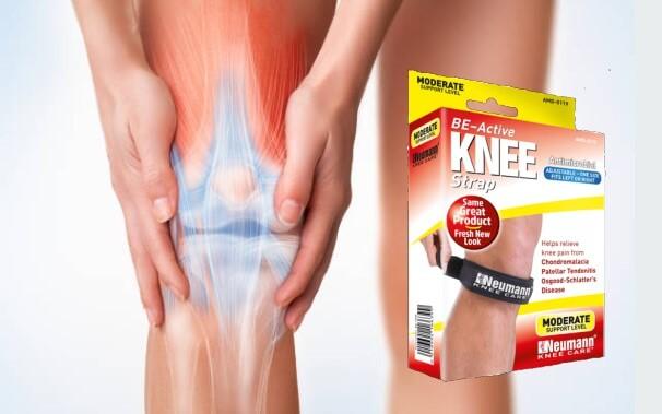 Correa para la rodilla Be-Active - ¿Dolor de espalda? ¿Ciática?