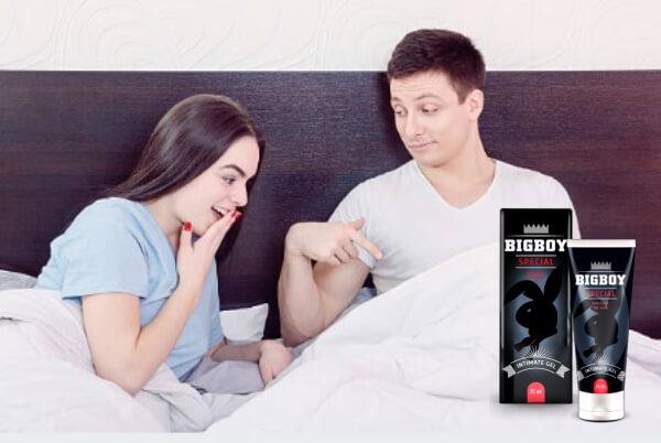 BigBoy Gel - ¡Un nuevo producto natural para más placer y resistencia masculina en la cama en 2021!