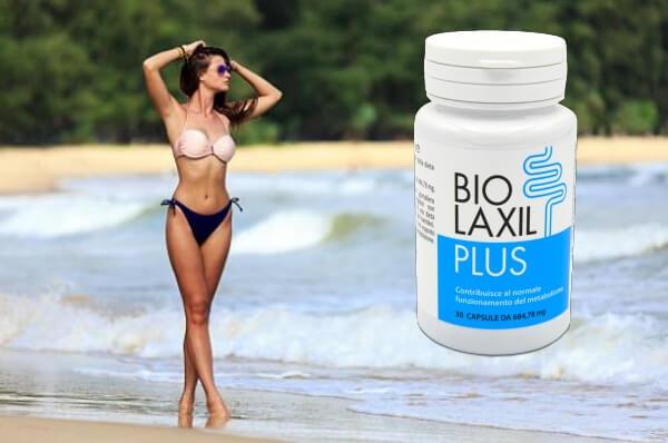 mujer, playa, además Biolaxil