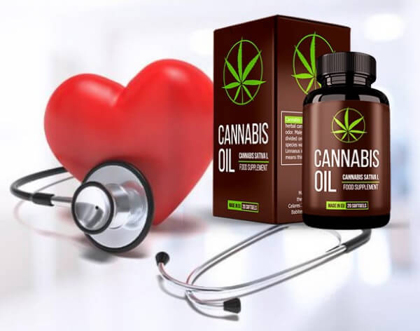 cannabis oil, salute, cuore