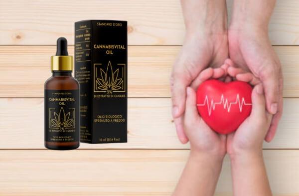 cannabisvista oil Gotas, Alta pressione sanguigna