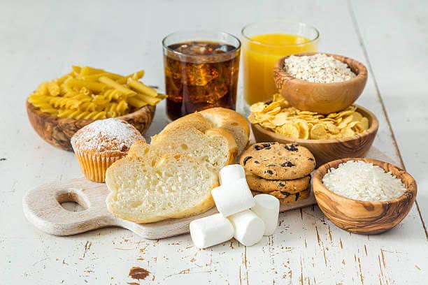 pane, pasta, coca cola, muffin