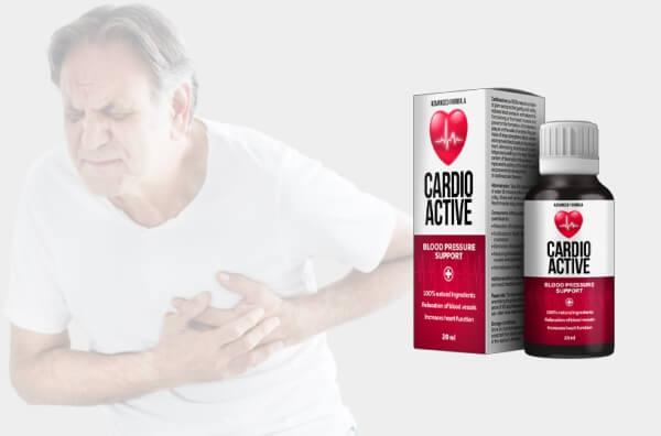 Cardio Active: normaliza la presión arterial y cuida tu corazón, de forma natural