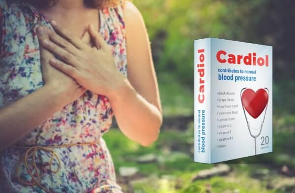 cardiol capsule, ipertensione, cuore