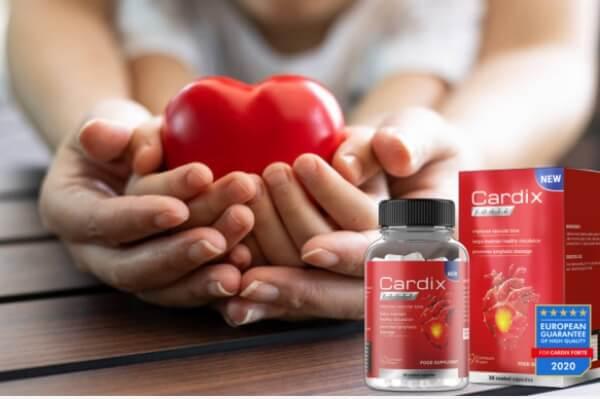 cápsulas hipertensión cardixforte