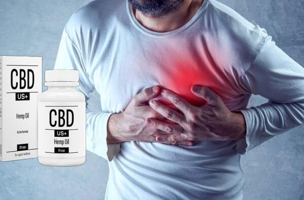 cbdus plus + capsule, cuore, ipertensione