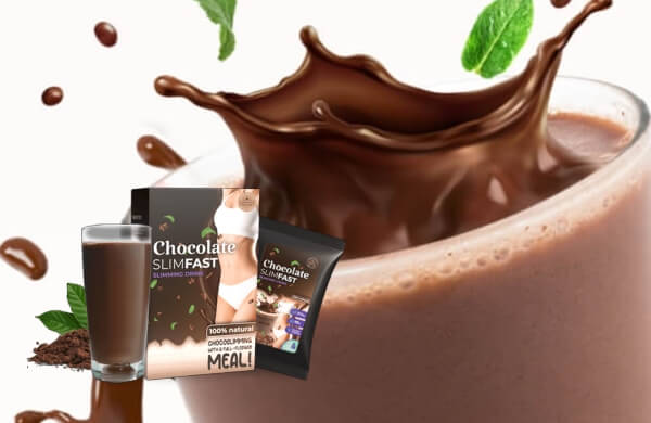 ingredientes de chocolate Slim Fast