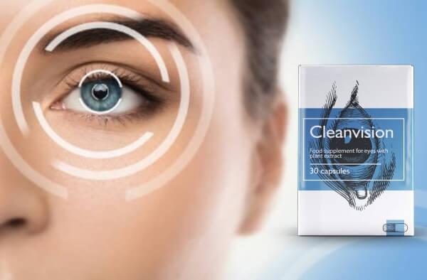 cleanvision capsules, occhi, vista