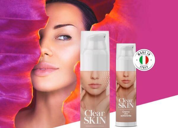Clear Skin: la crema aclaradora, ¡todo natural!