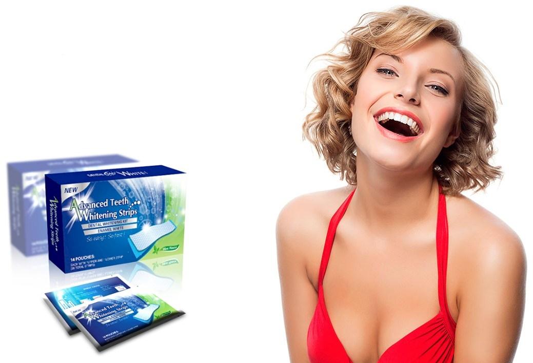 Tiras Blancas Dentales - ¡Dientes de estrella en minutos!