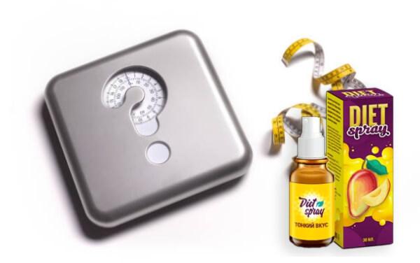 dietspray, perdita di peso