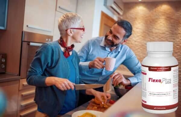 Flexa Plus Optima, coppia felice in cucina