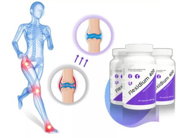 dolori articolari capsule flexidium400