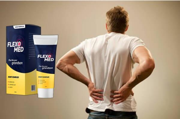 Flexomed hombre con dolor de espalda
