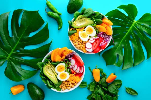 ceto, la dieta, el desayuno, la comida, el aguacate