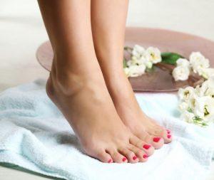 saludables y hermosas piernas