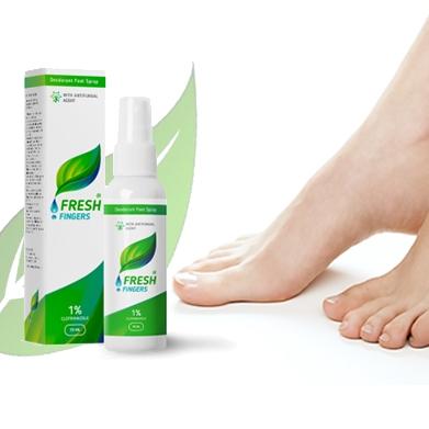 Fresh Fingers: pies sanos y hermosos con facilidad
