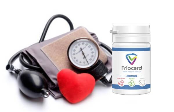 FrioCard: ¡fórmula natural para promover el equilibrio adecuado de la presión arterial!