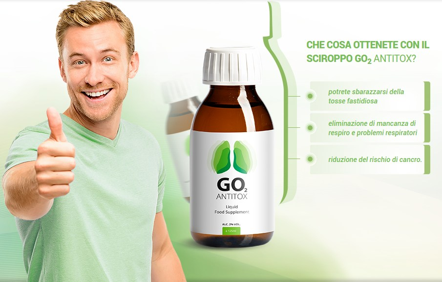 Go2 Antitox - Fantástico jarabe purificante