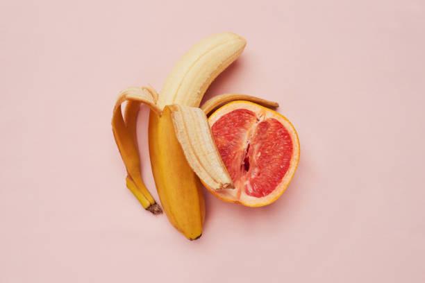 Plátano y pomelo