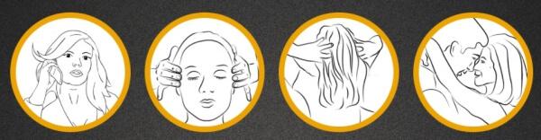 modo de uso de Head & Hair