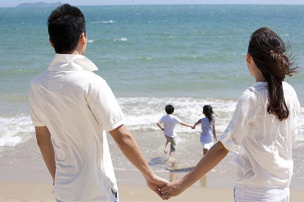 los hombres, las mujeres, la salud, el mar, feliz
