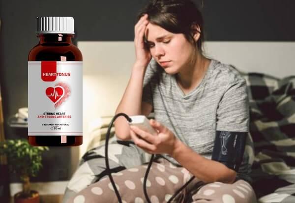 donna, ipertensione, gocce