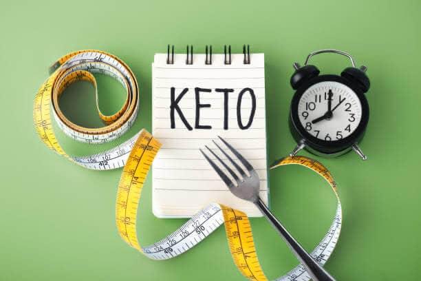 notas, la dieta ceto, metro, tenedor