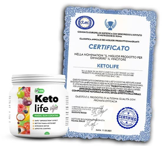 Ketolife certificado España