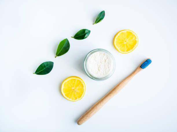 El blanqueo de la pasta de limón