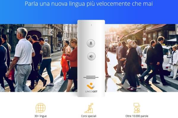 LingoGet: sistema innovador de aprendizaje de idiomas y de idiomas