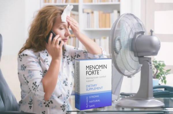 Menomin Forte - apoyo para mujeres durante la menopausia
