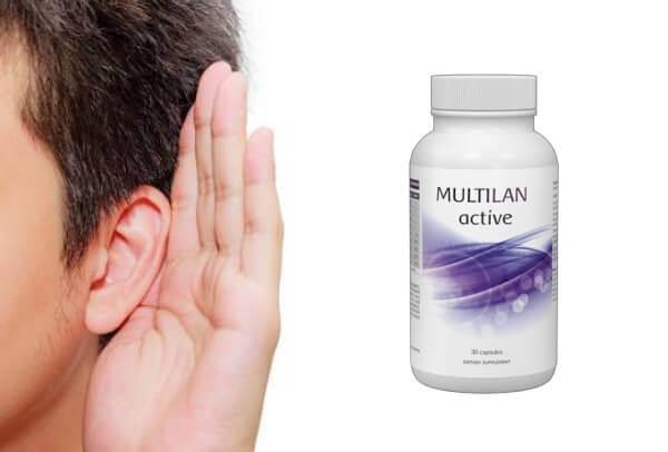 el oído, el oído, activa MULTILAN