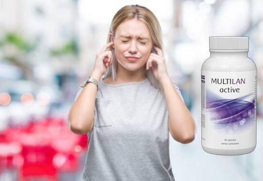 MULTILAN activos, dolor de oídos