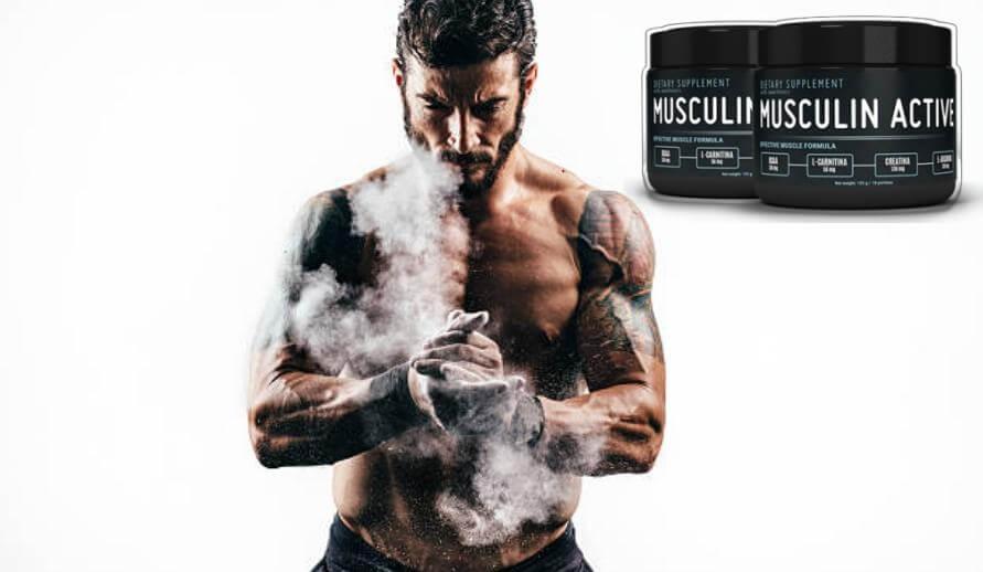 Musculin Active - ¿Masa muscular? ¡Fortalece naturalmente tu físico!