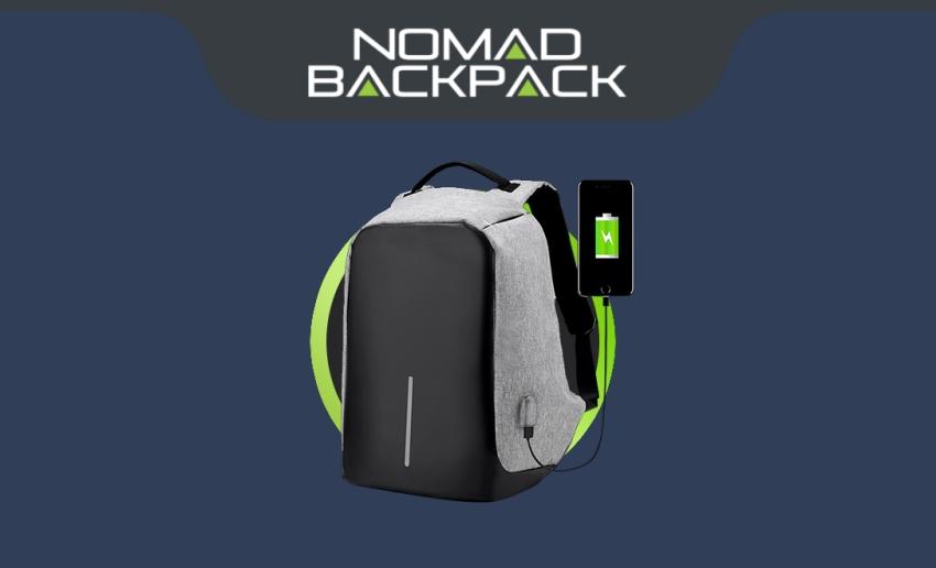 Mochila multiusos antirrobo Nomad Backpack: dónde encontrarla al mejor precio