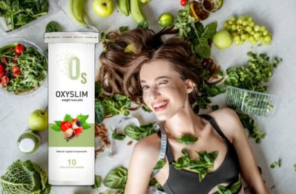 OxySlim, ¡la efervescencia que cambia de forma!
