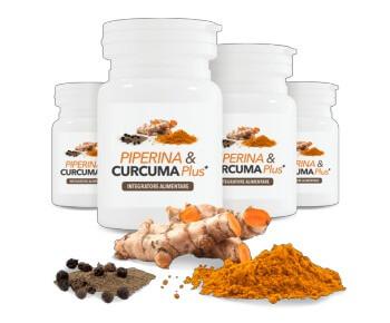 Piperina & Curcuma Plus