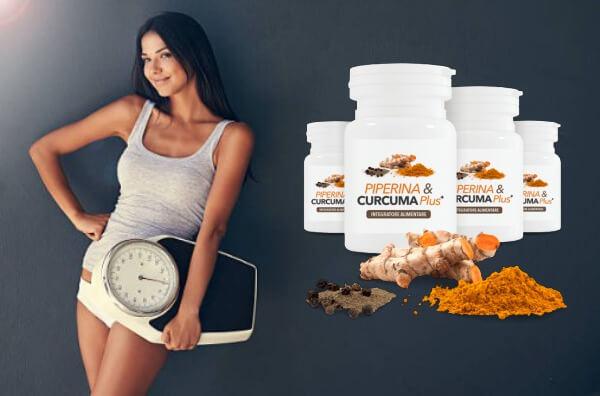 Piperine & Curcuma Plus - ¿Problemas de sobrepeso y metabolismo lento?