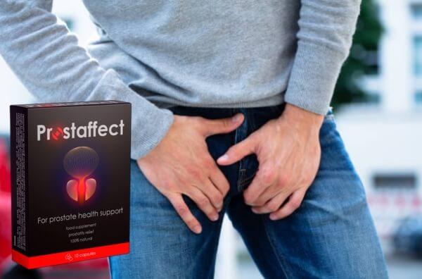 cápsulas prostaffect, hombre de próstata