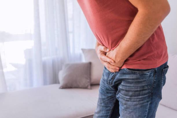 prostata, fa male, l'uomo