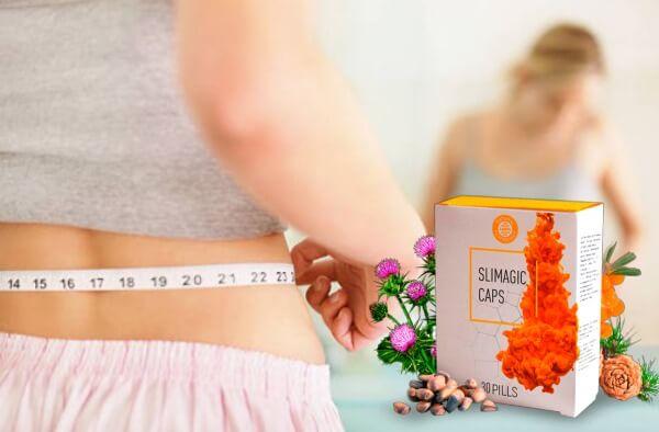 Slimagic Caps - ¿Le parece imposible perder peso?