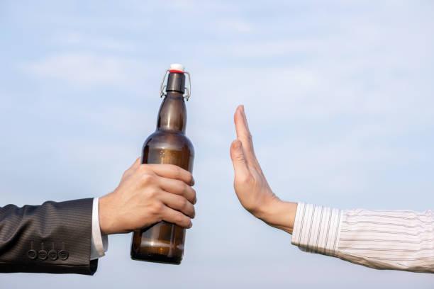 Fermare l'alcol