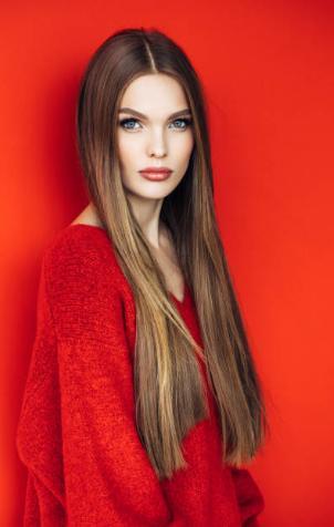 mujer, pelo